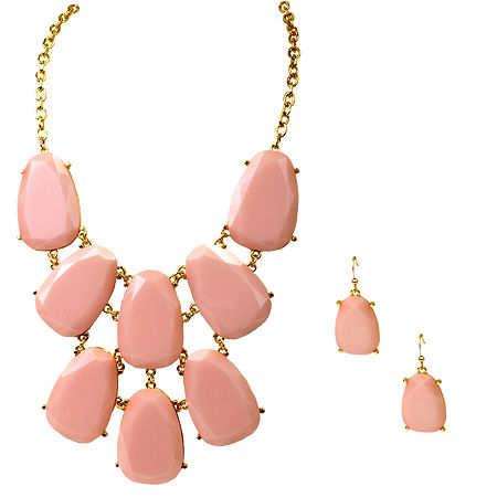 Mixit 2-pc. Jewelry Set, One Size , Pink