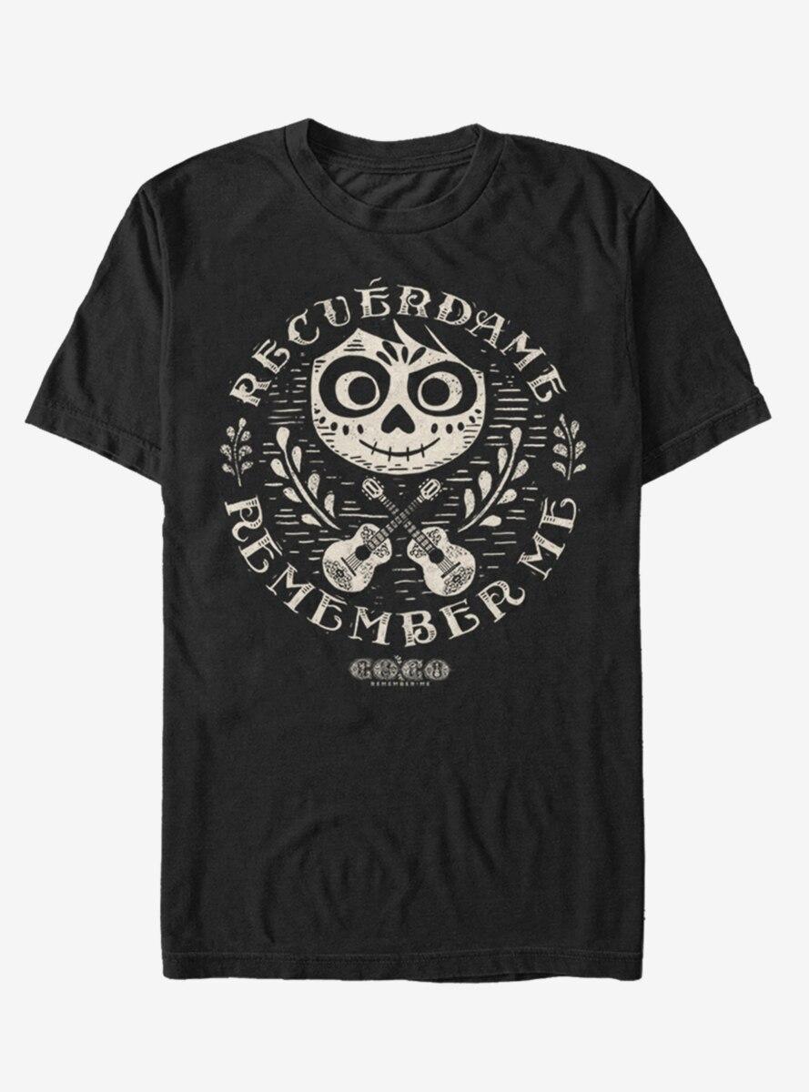 Disney Pixar Coco Circle Remember T-Shirt