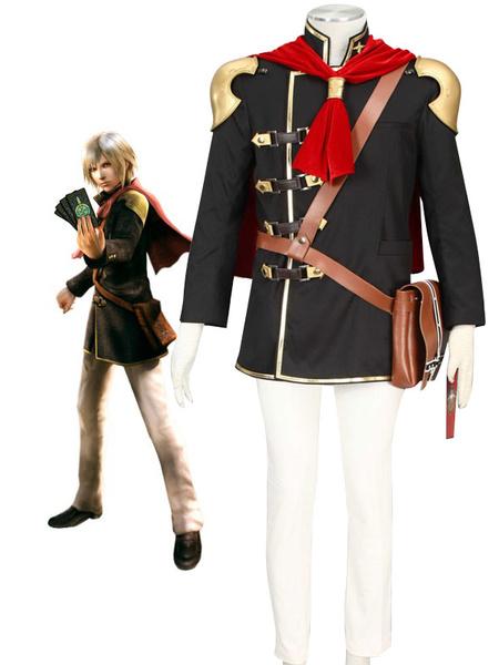Milanoo Final Fantasy Type-0 Suzaku Peristylium Class Zero NO.1 Ace Cosplay Costume Halloween