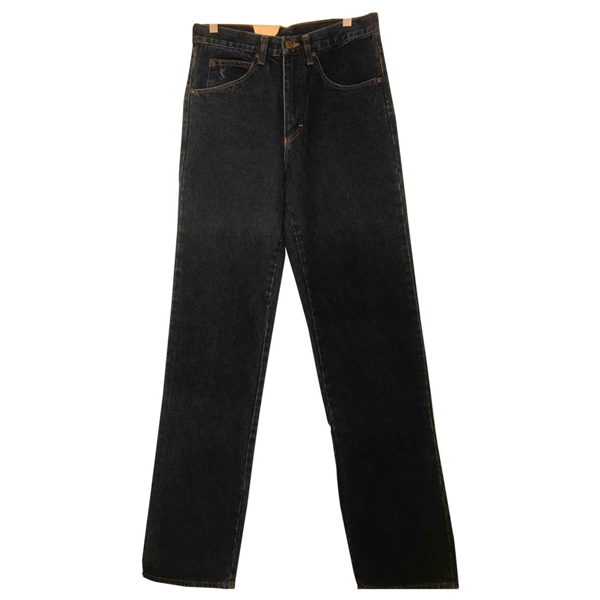 Yves Saint Laurent \N Blue Cotton Jeans for Men 29 US