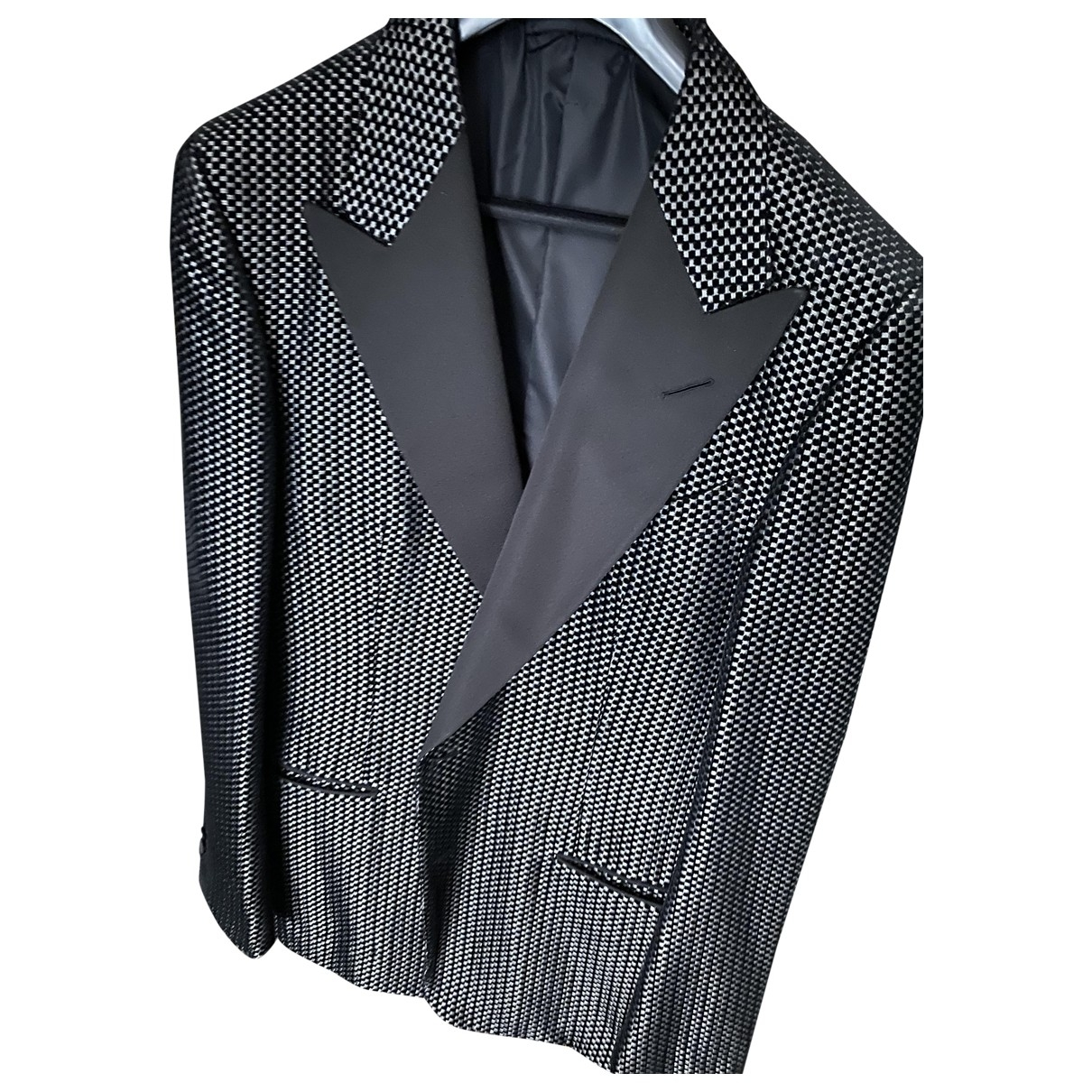 Tom Ford \N Black Wool Suits for Men 52 IT
