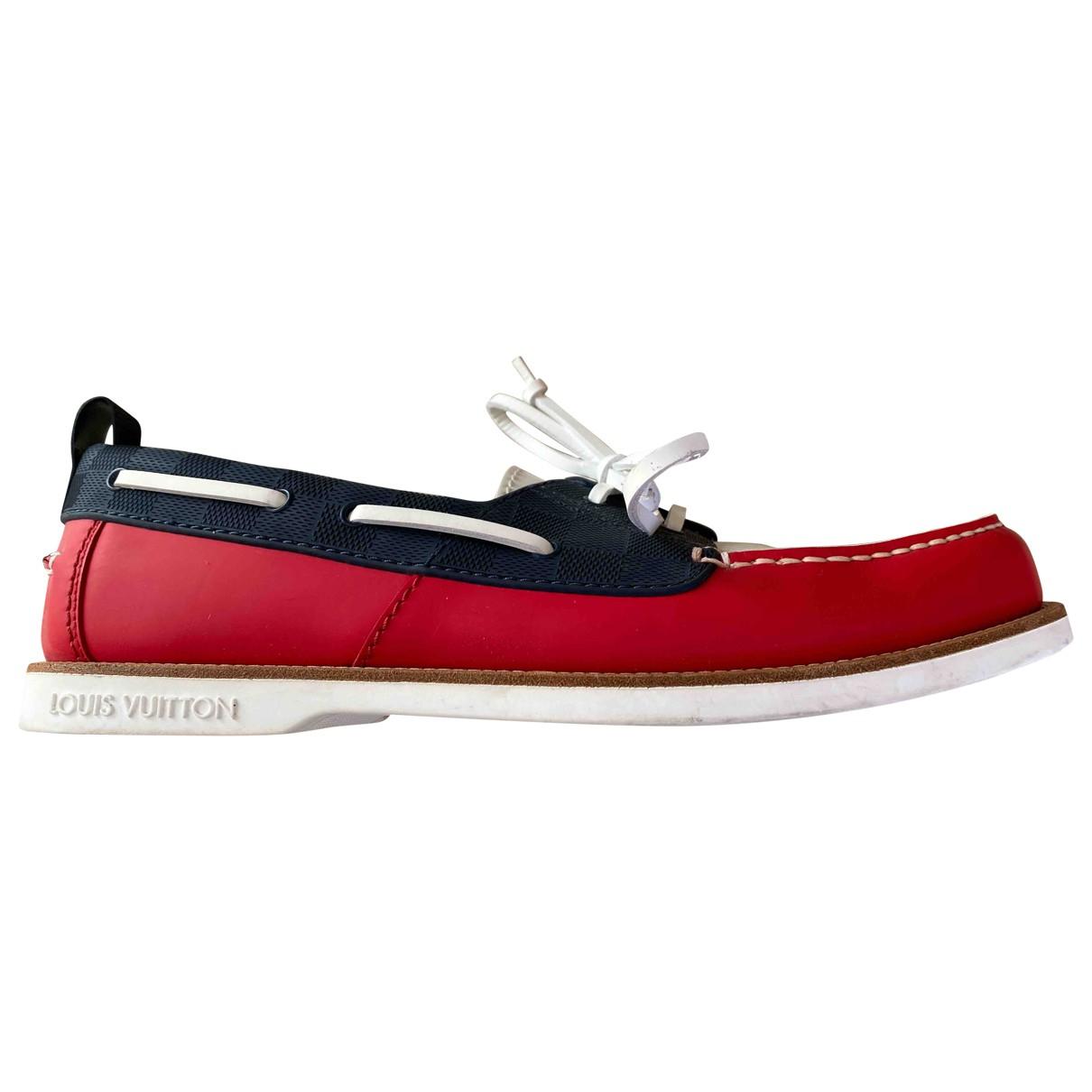 Louis Vuitton \N Multicolour Leather Flats for Men 8.5 UK