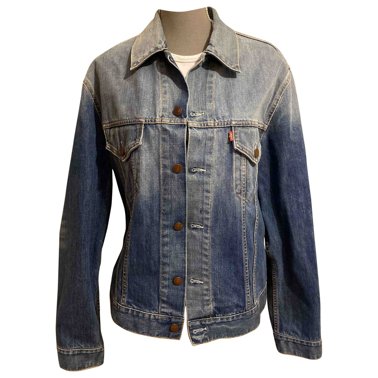 Levi's \N Blue Denim - Jeans jacket  for Men XL International