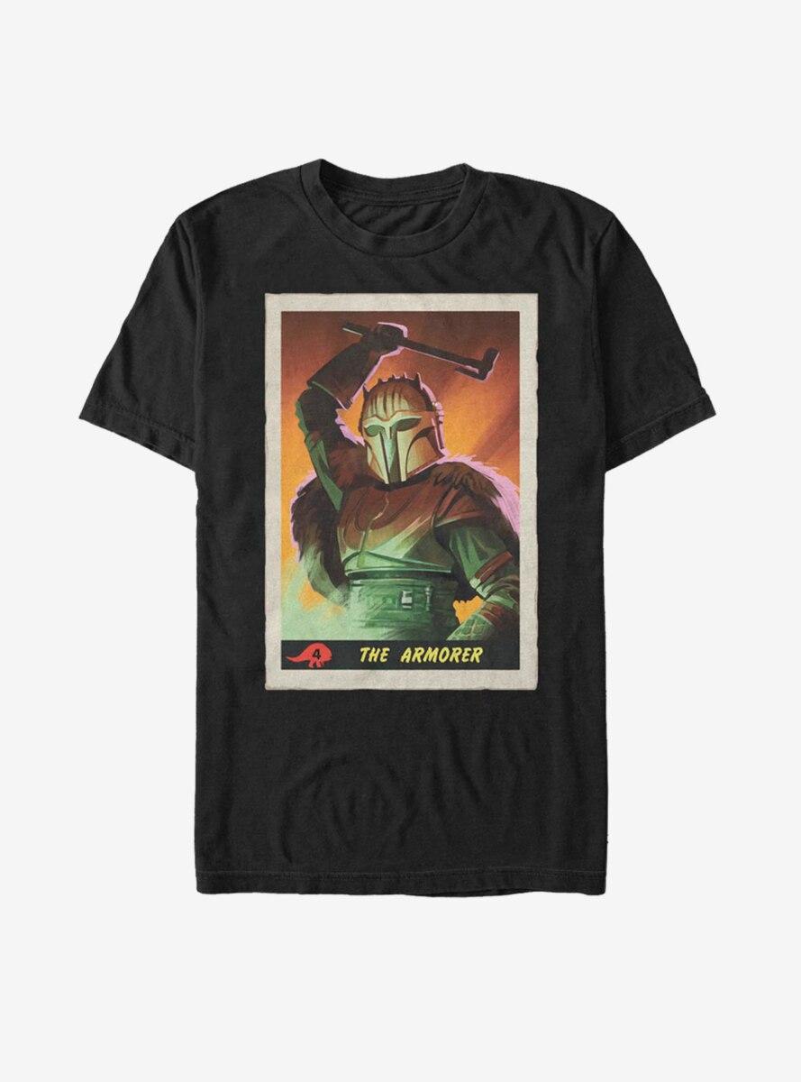 Star Wars The Mandalorian Armorer Card T-Shirt