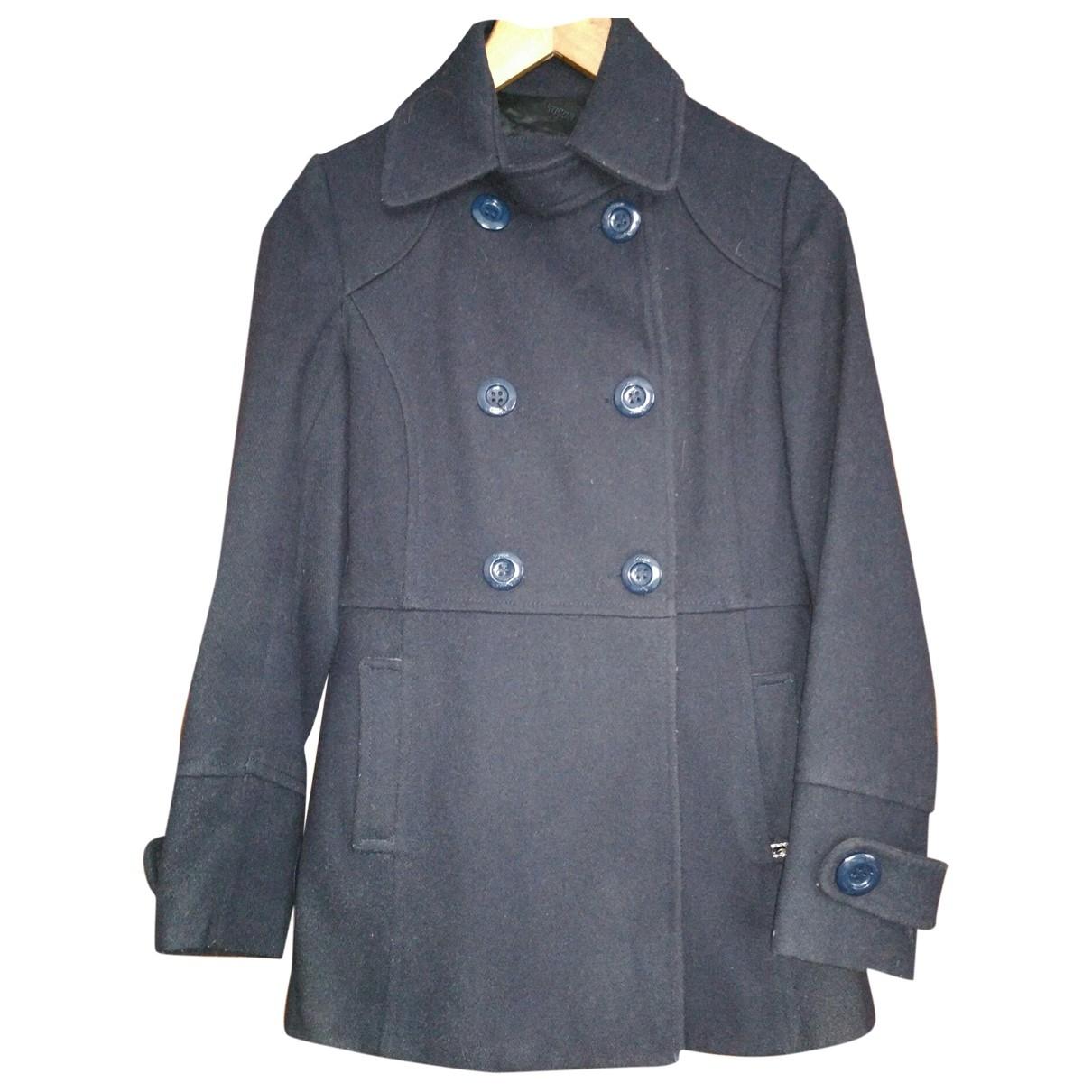 Non Signé / Unsigned \N Blue Wool jacket for Women S International