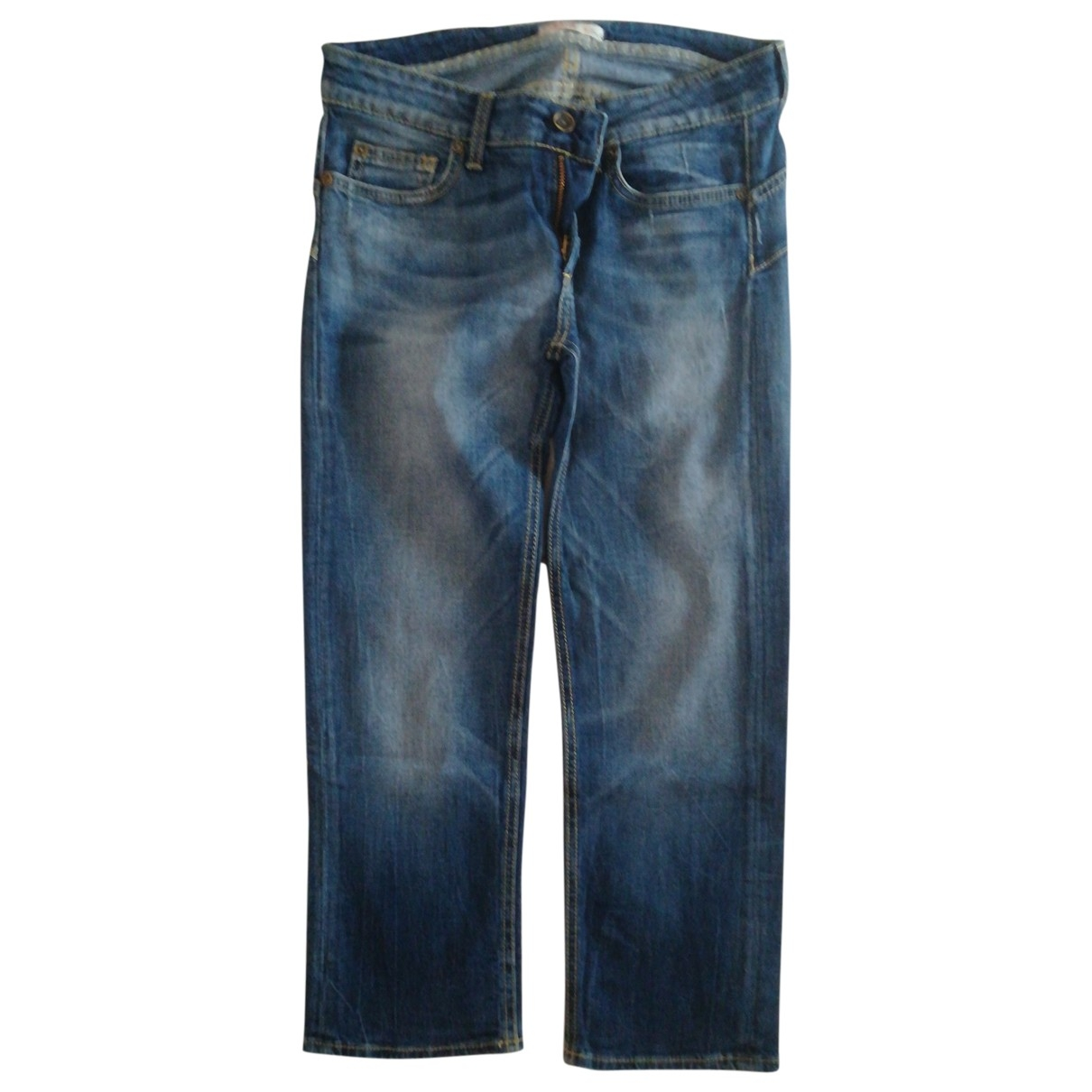Liu.jo \N Blue Cotton - elasthane Jeans for Women 29 US