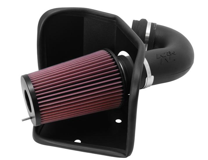 K&N 57-1525 Performance Air Intake System Dodge 1994-2002 5.9L 6-Cyl