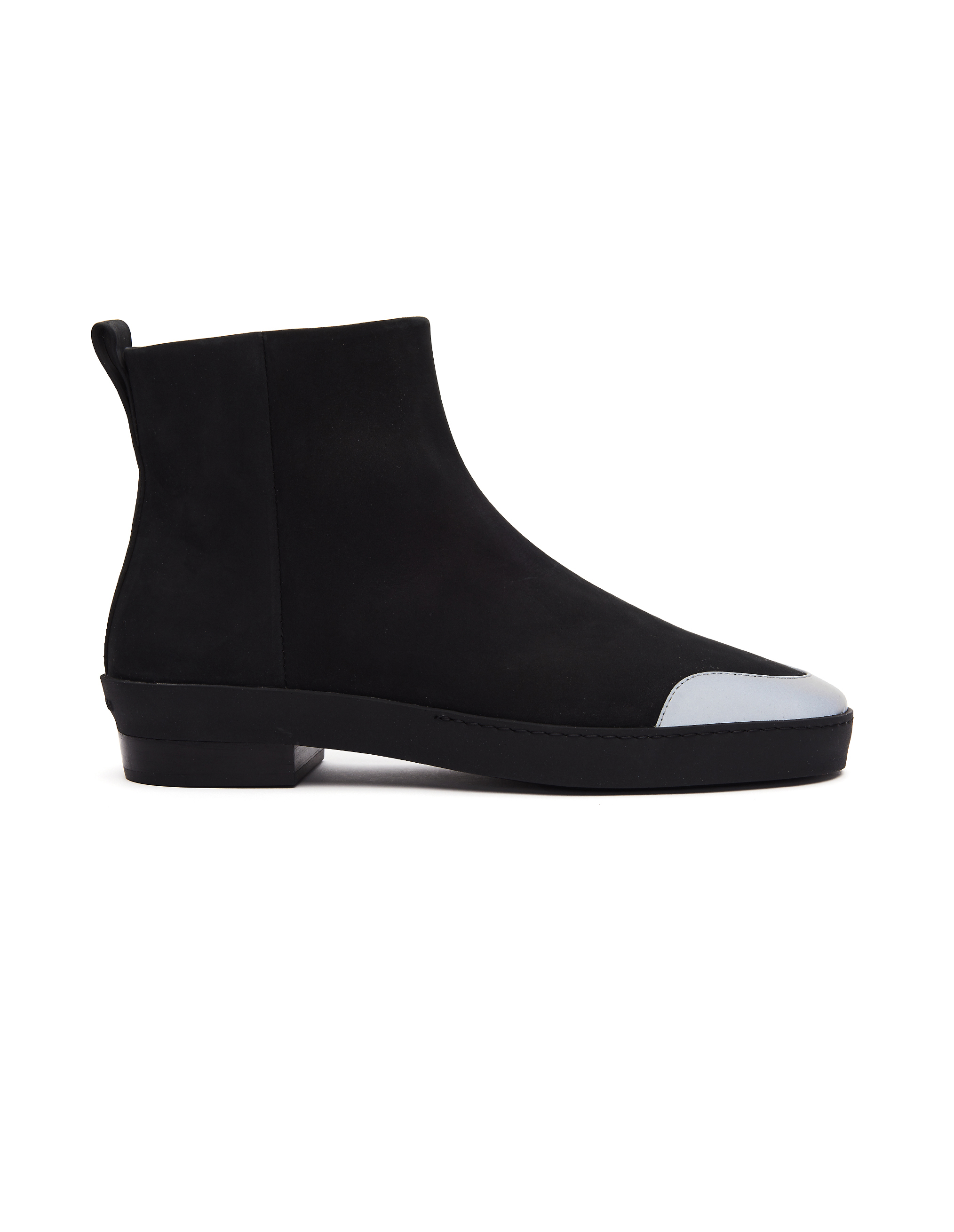Fear of God Black Leather Chelsea Boots