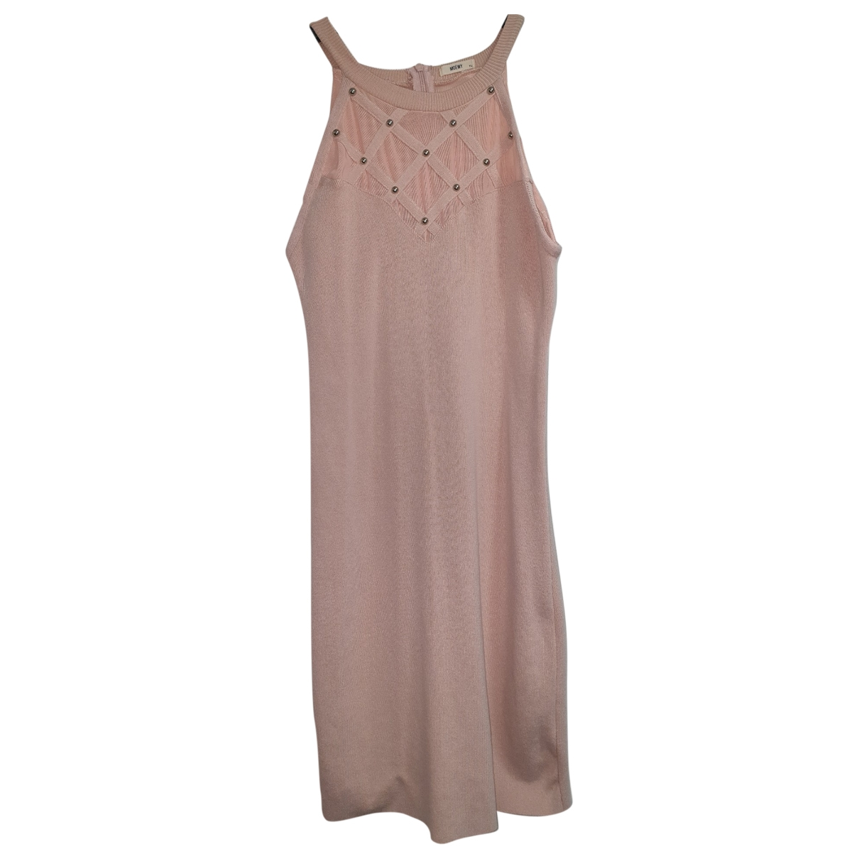Non Signé / Unsigned \N Pink dress for Women One Size International