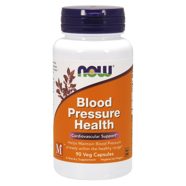 Blood Pressure Health 90 Vcaps by Now Foods