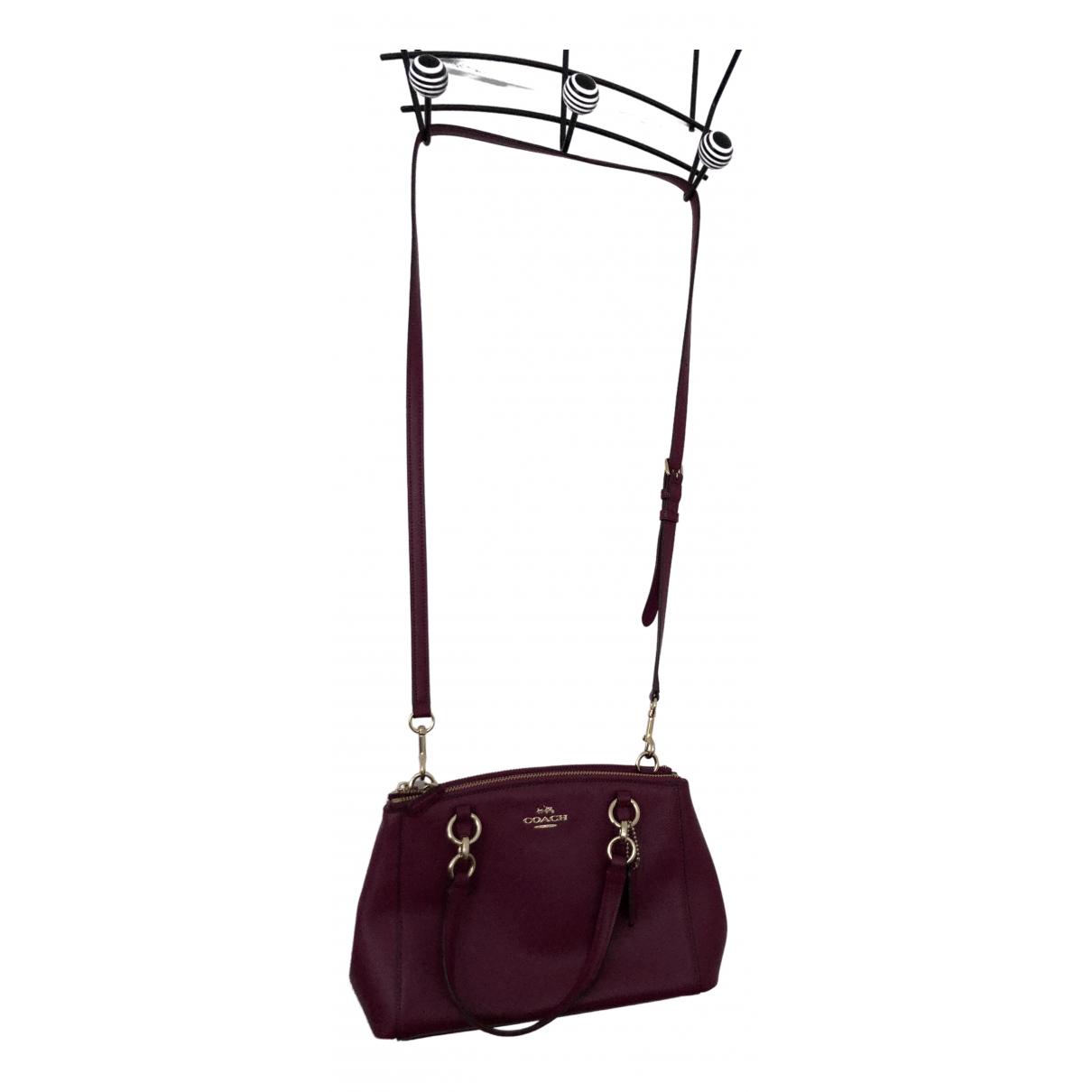 Coach \N Leather handbag for Women \N