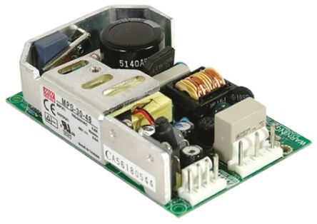 Mean Well , 28.8W Embedded Switch Mode Power Supply SMPS, 24V dc, Open Frame, Medical Approved