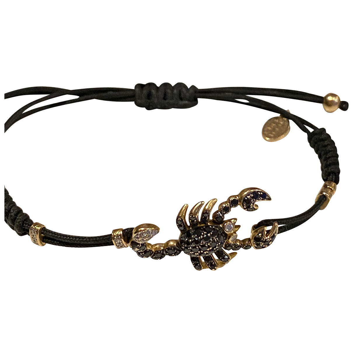 Non Signé / Unsigned \N Gold Pink gold bracelet for Women \N