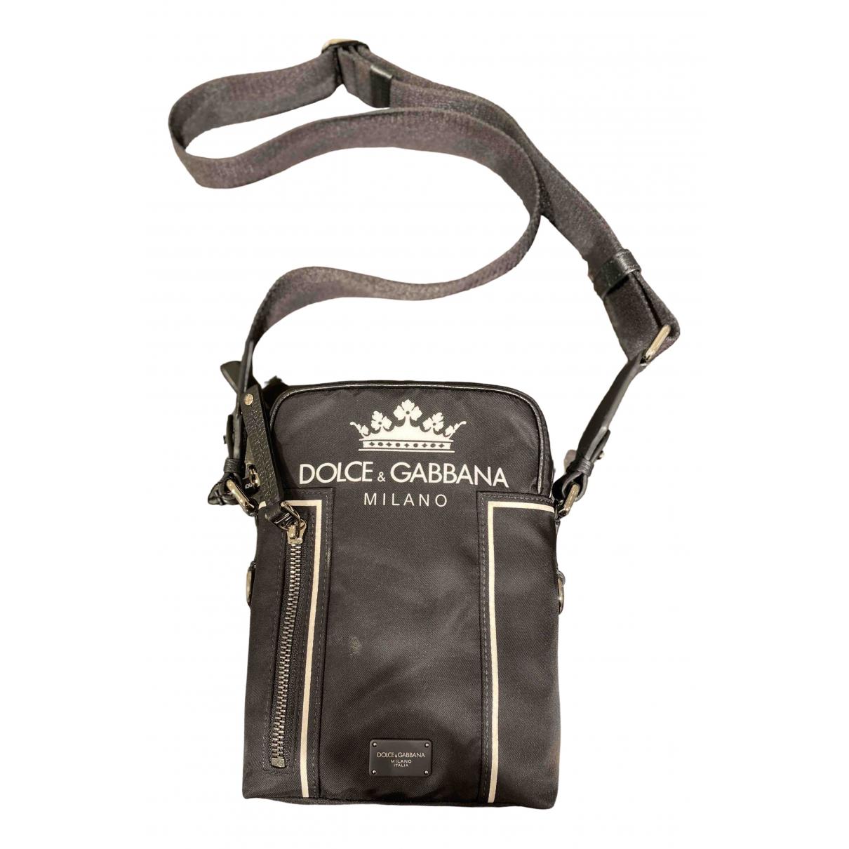 Dolce & Gabbana \N Black bag for Men \N