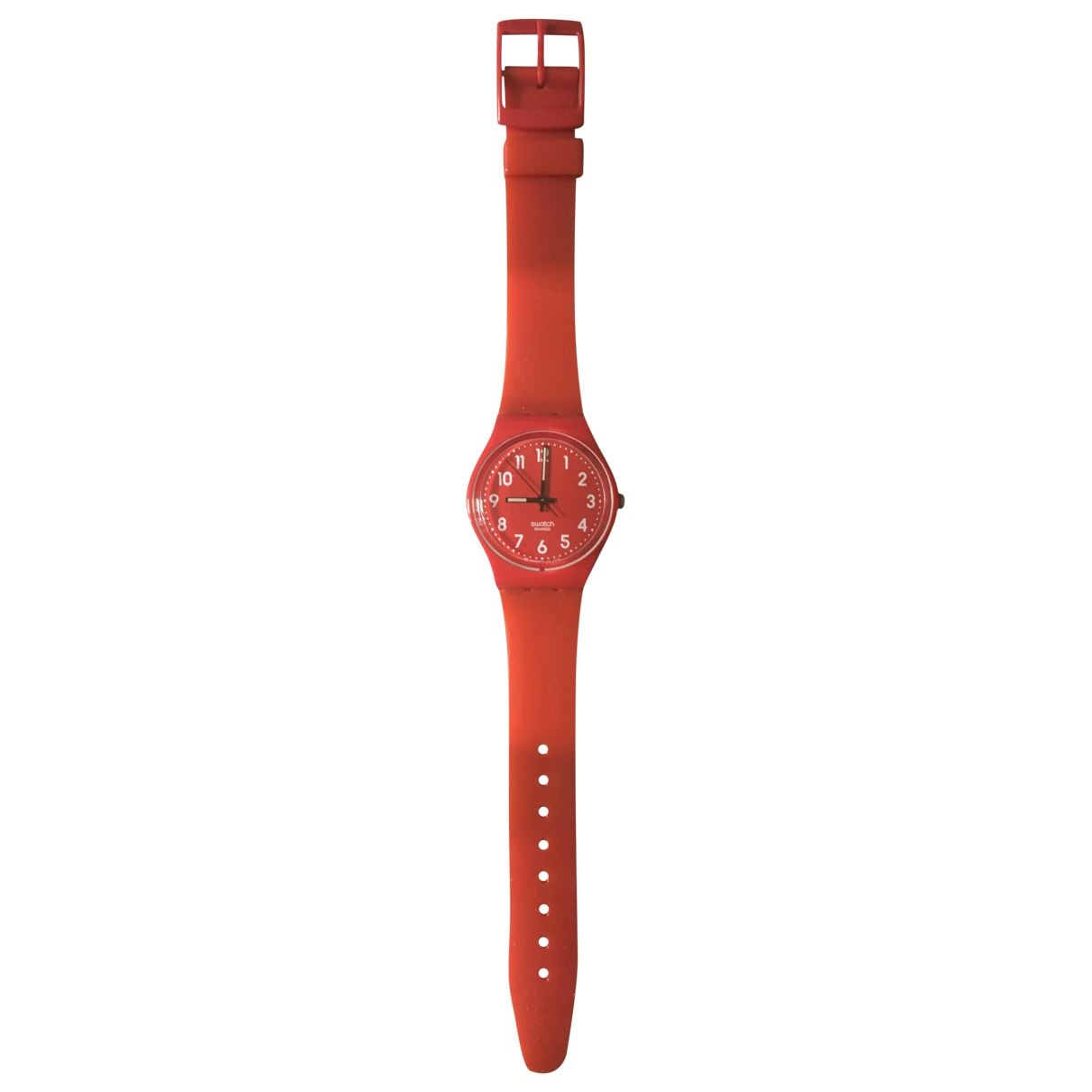 Swatch \N Red watch for Women \N