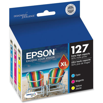 Epson T127520 Original Colour Ink Cartridge Combo Extra High Yield C/M/Y