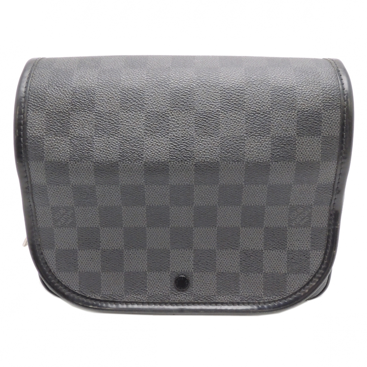Louis Vuitton \N Black Cloth Small bag, wallet & cases for Men \N