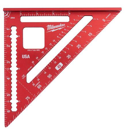Milwaukee 7 in. Magnetic Rafter Square