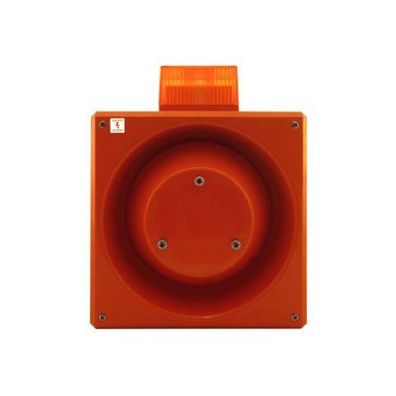 Clifford & Snell YL80 Sounder Beacon Green Xenon, 230 V