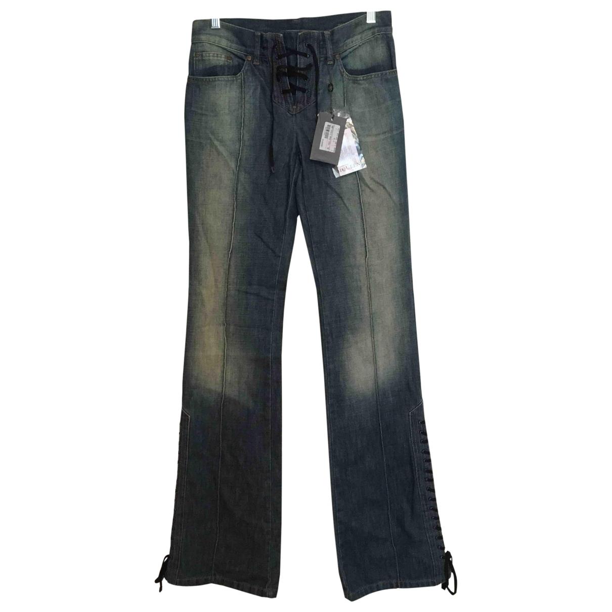 Alexander Mcqueen \N Blue Denim - Jeans Jeans for Women 40 FR