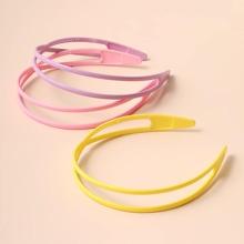 3pcs Colorful Hair Hoop