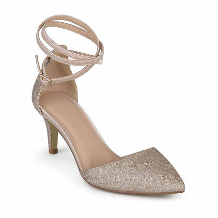 Journee Collection Womens Luela Pumps Stiletto Heel, 10 Medium, Pink