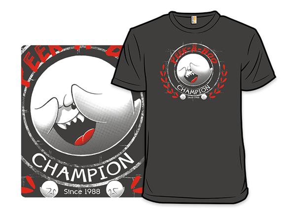 Peek-a-boo Champion T Shirt