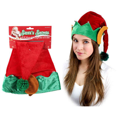 Christmas Elf Hat with Bells & Ears 20