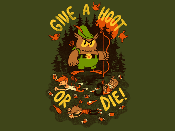 Hoot Or Die! T Shirt