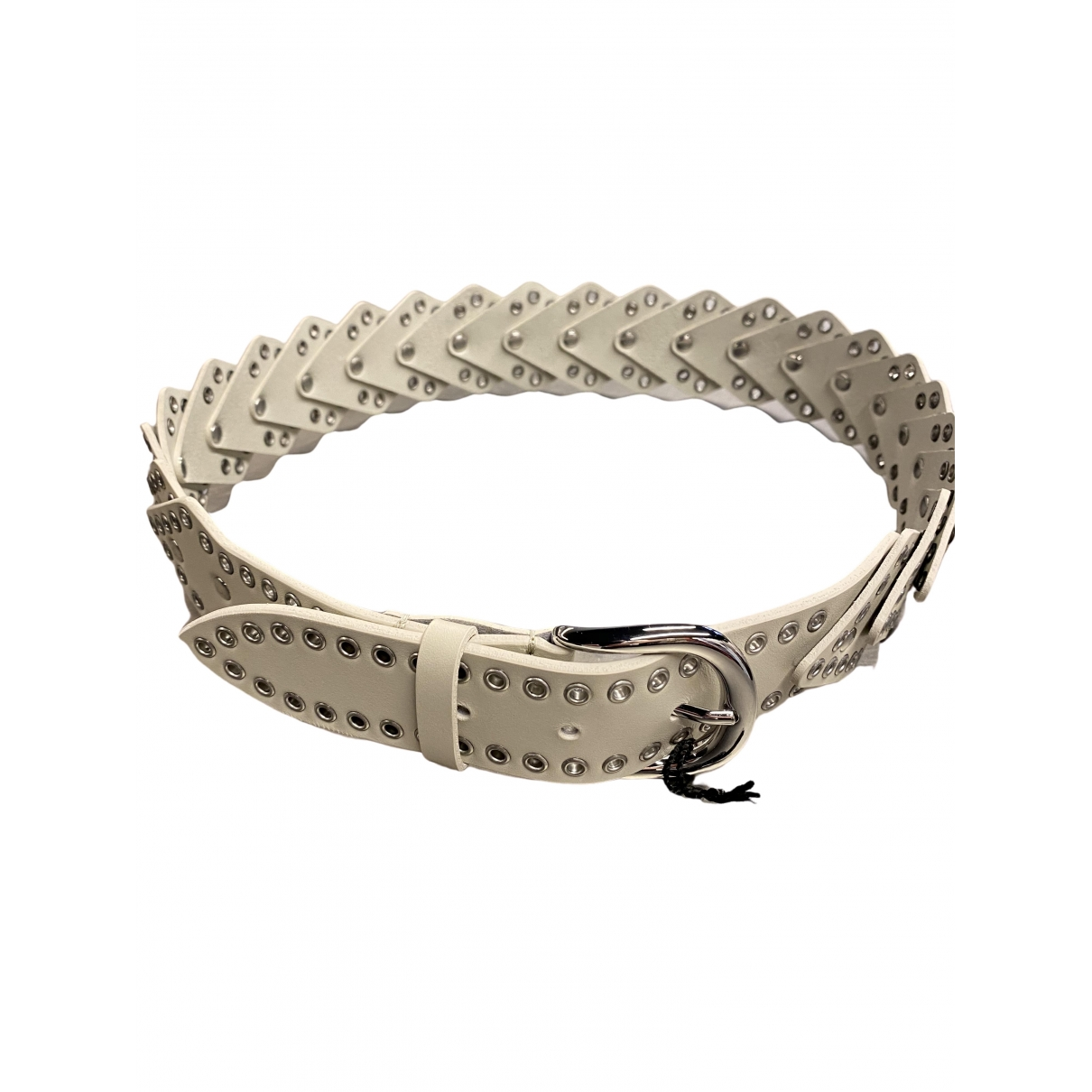 Isabel Marant \N White Leather belt for Women M International