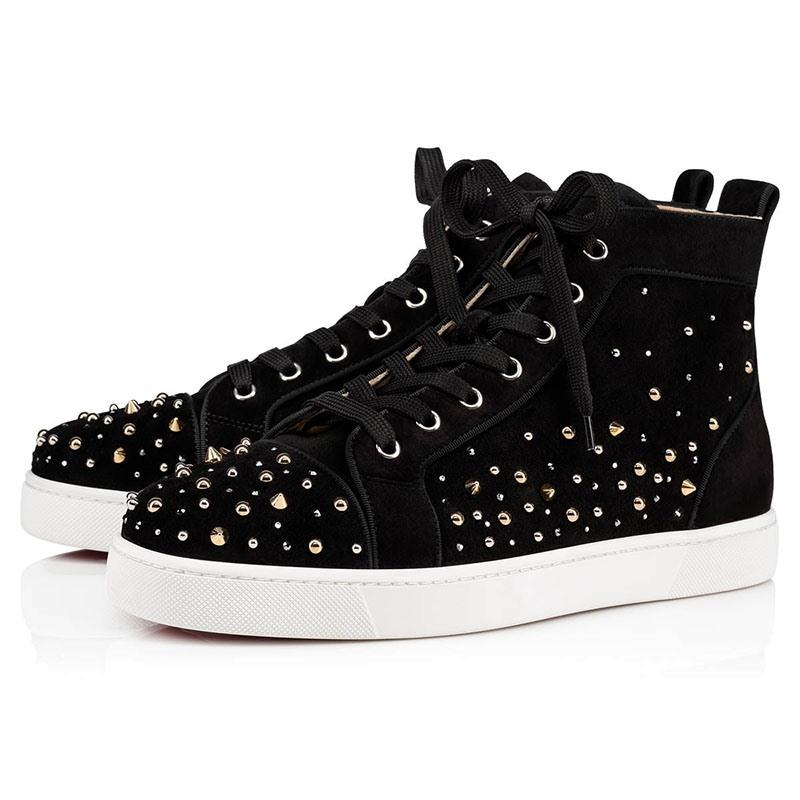 Ericdress Plain Rivet Lace-Up Round Toe Men's Skate Shoes