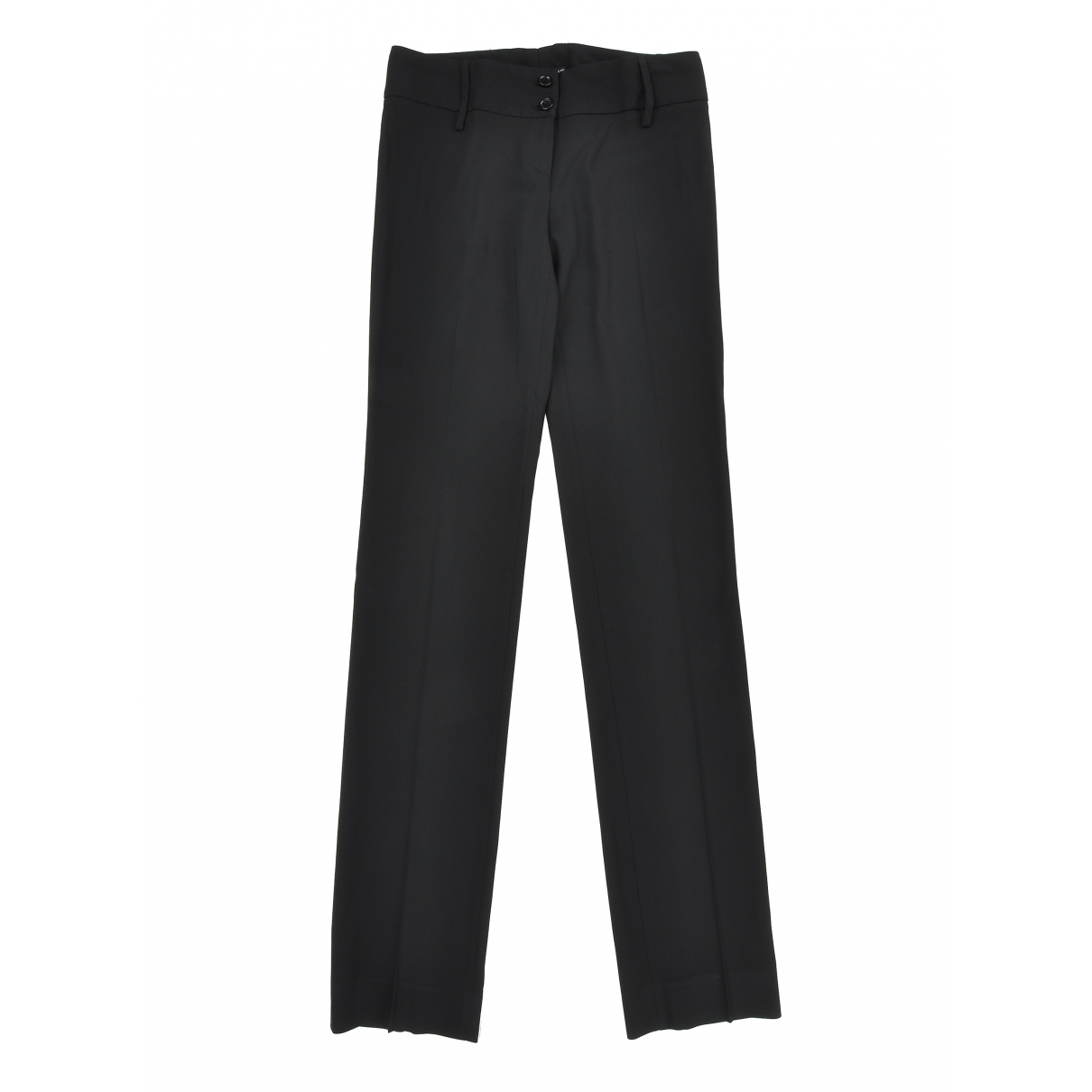 Dolce & Gabbana \N Black Trousers for Women 38 IT