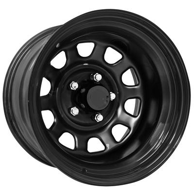 Pro Comp Series 51, 17x9 Wheel with 5 on 5 Bolt Pattern - Gloss black 51-7973