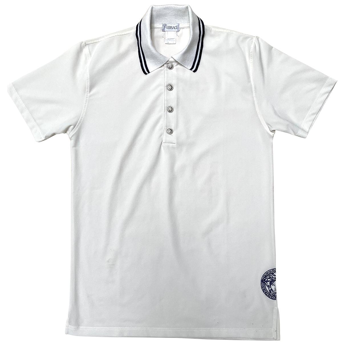 Versace \N White Polo shirts for Men M International