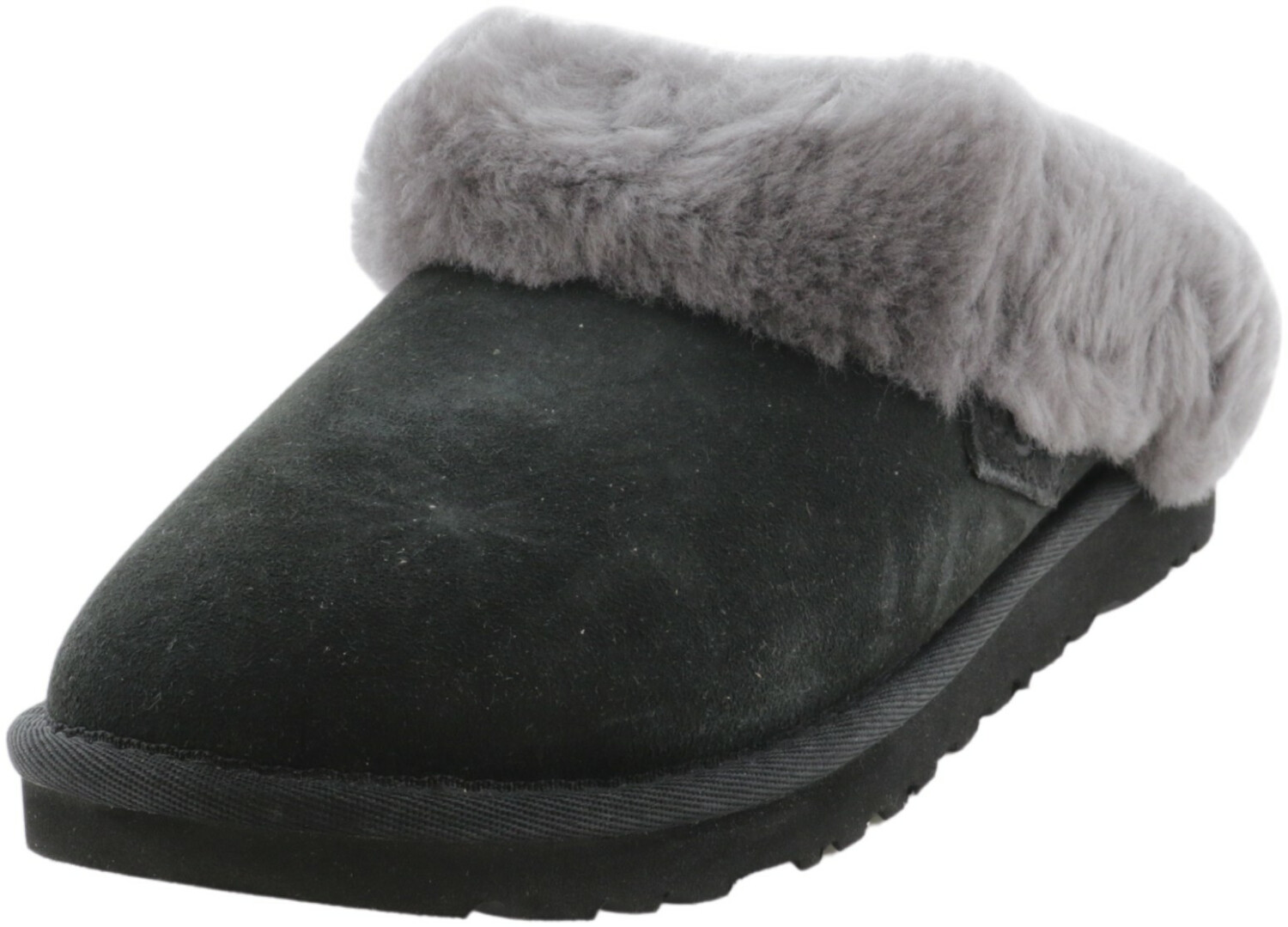 Ugg Women's Cluggette Black Sheepskin Slipper - 5M