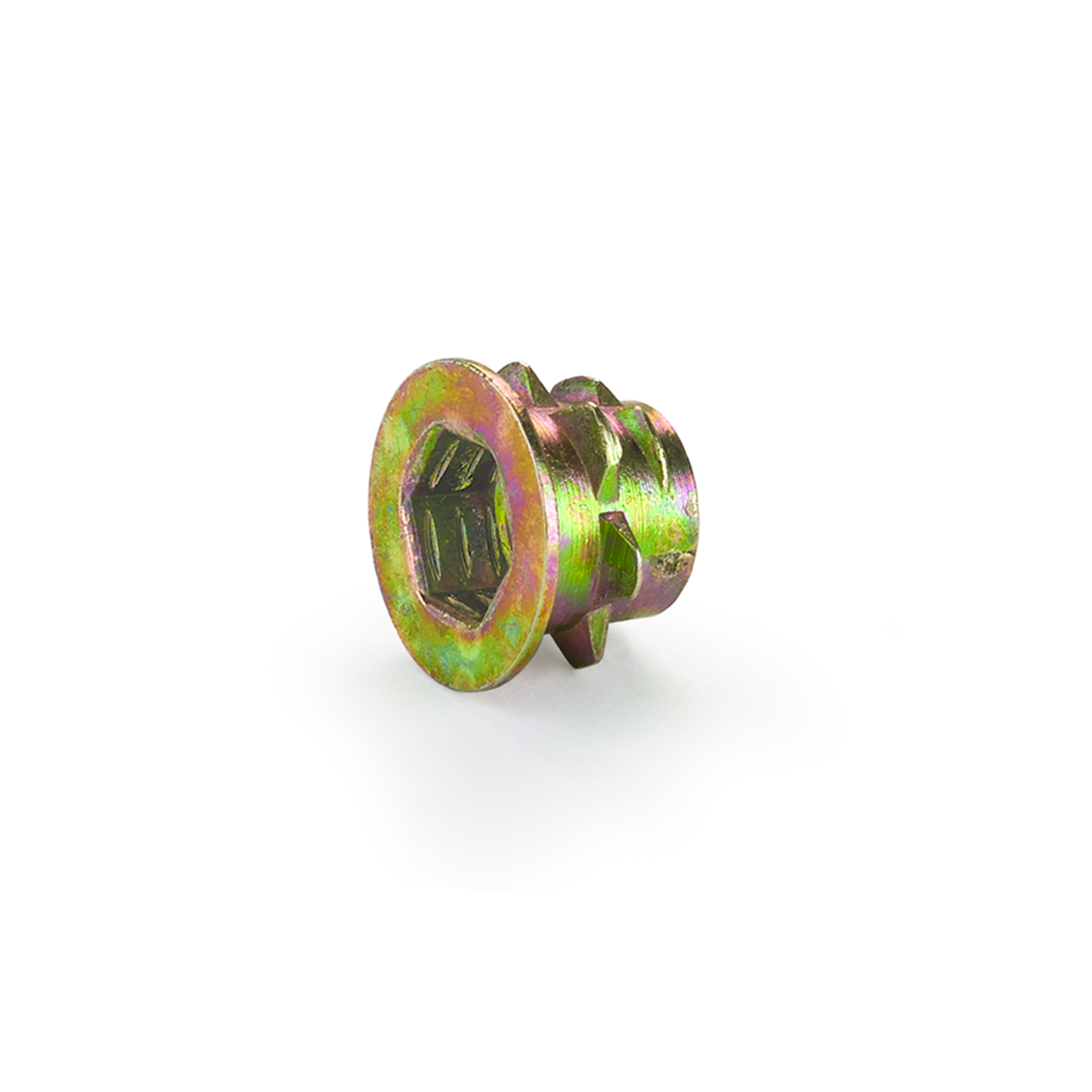 Threaded Insert - Low Profile - 1/4