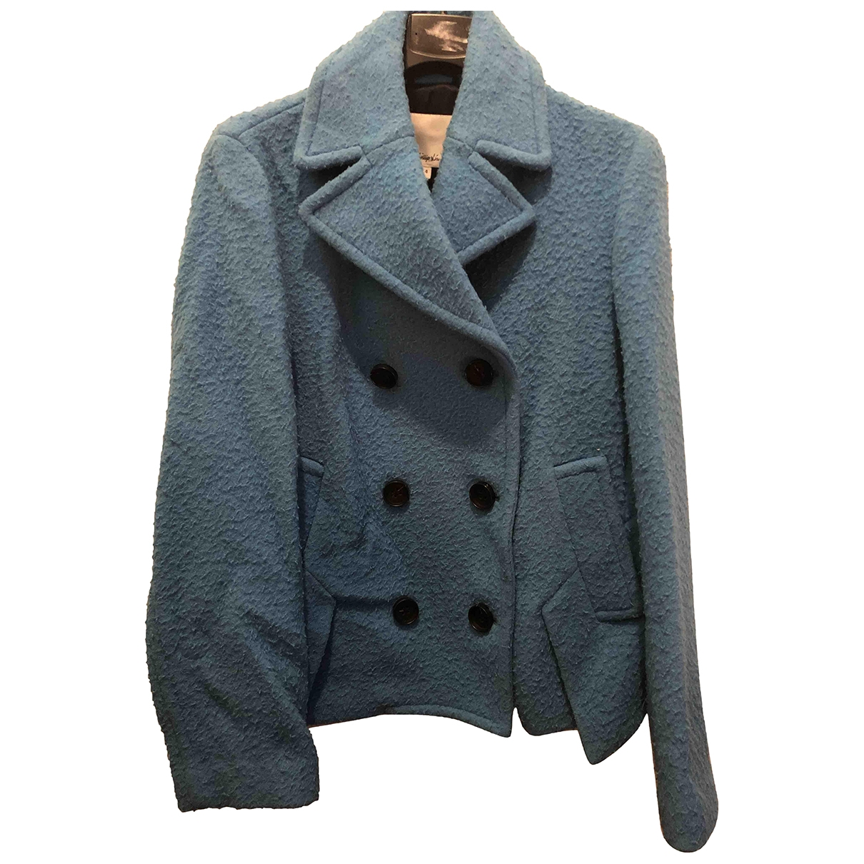 3.1 Phillip Lim \N Turquoise Wool coat for Women 4 US