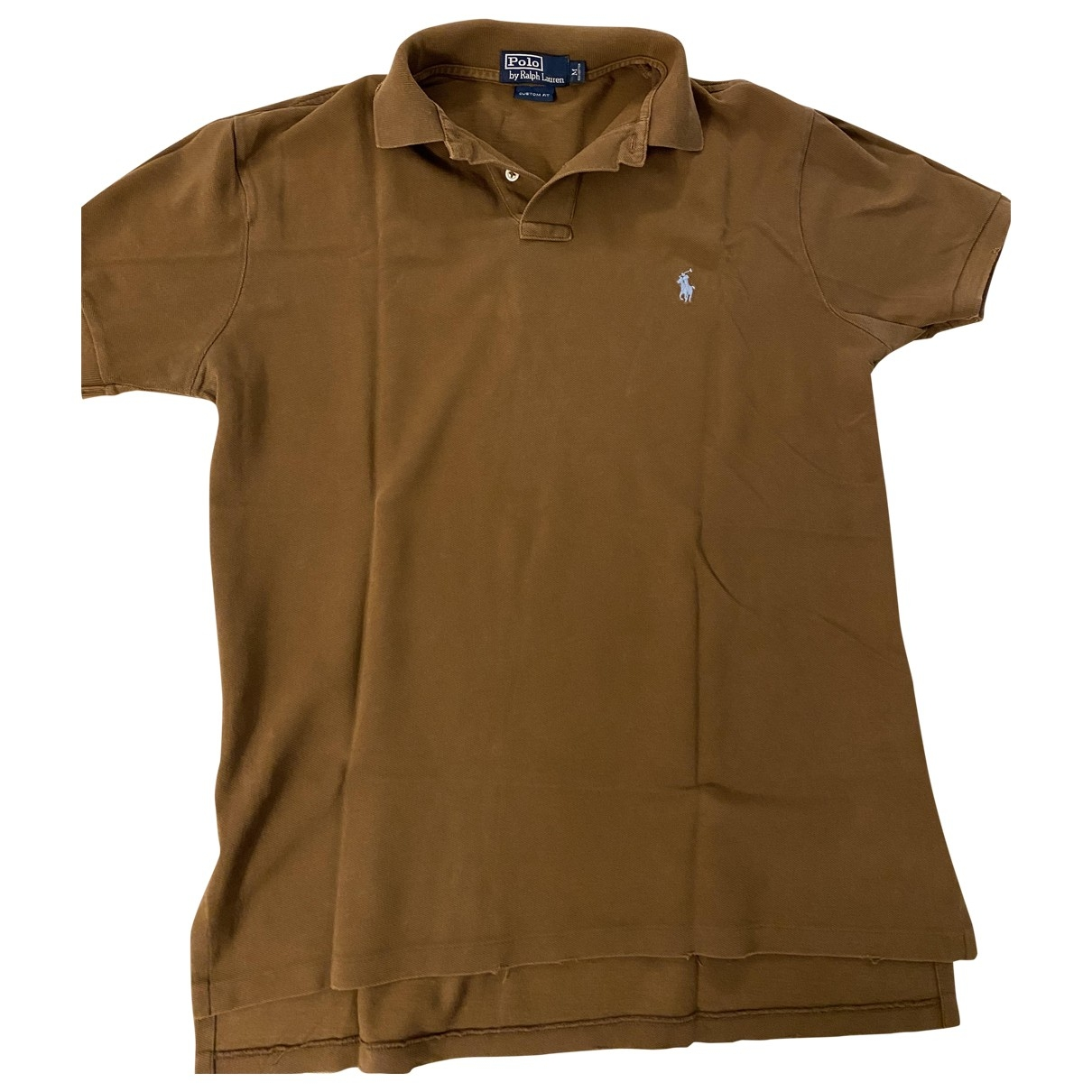 Polo Ralph Lauren \N Brown Cotton Polo shirts for Men M International