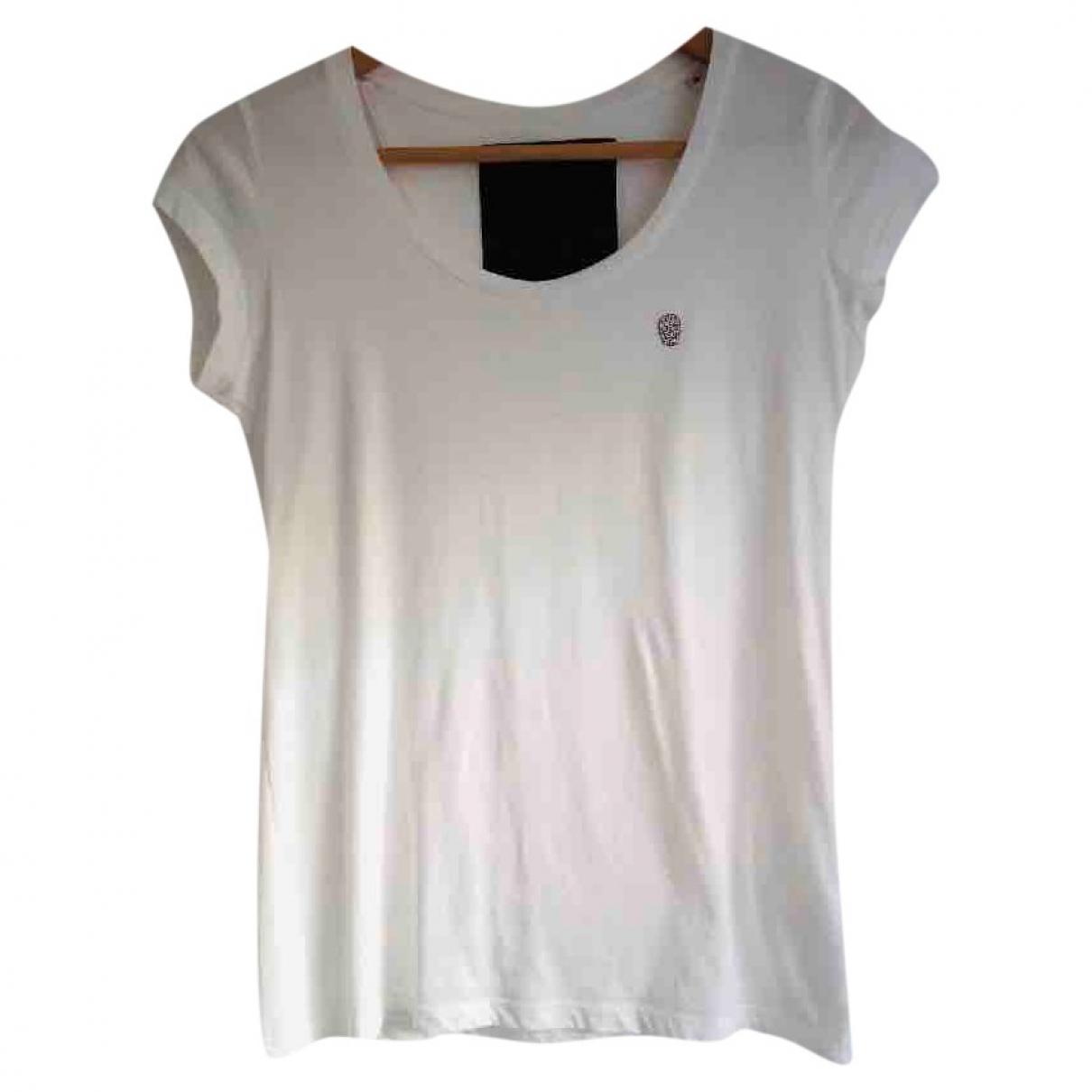 Philipp Plein \N White Cotton  top for Women 34 FR