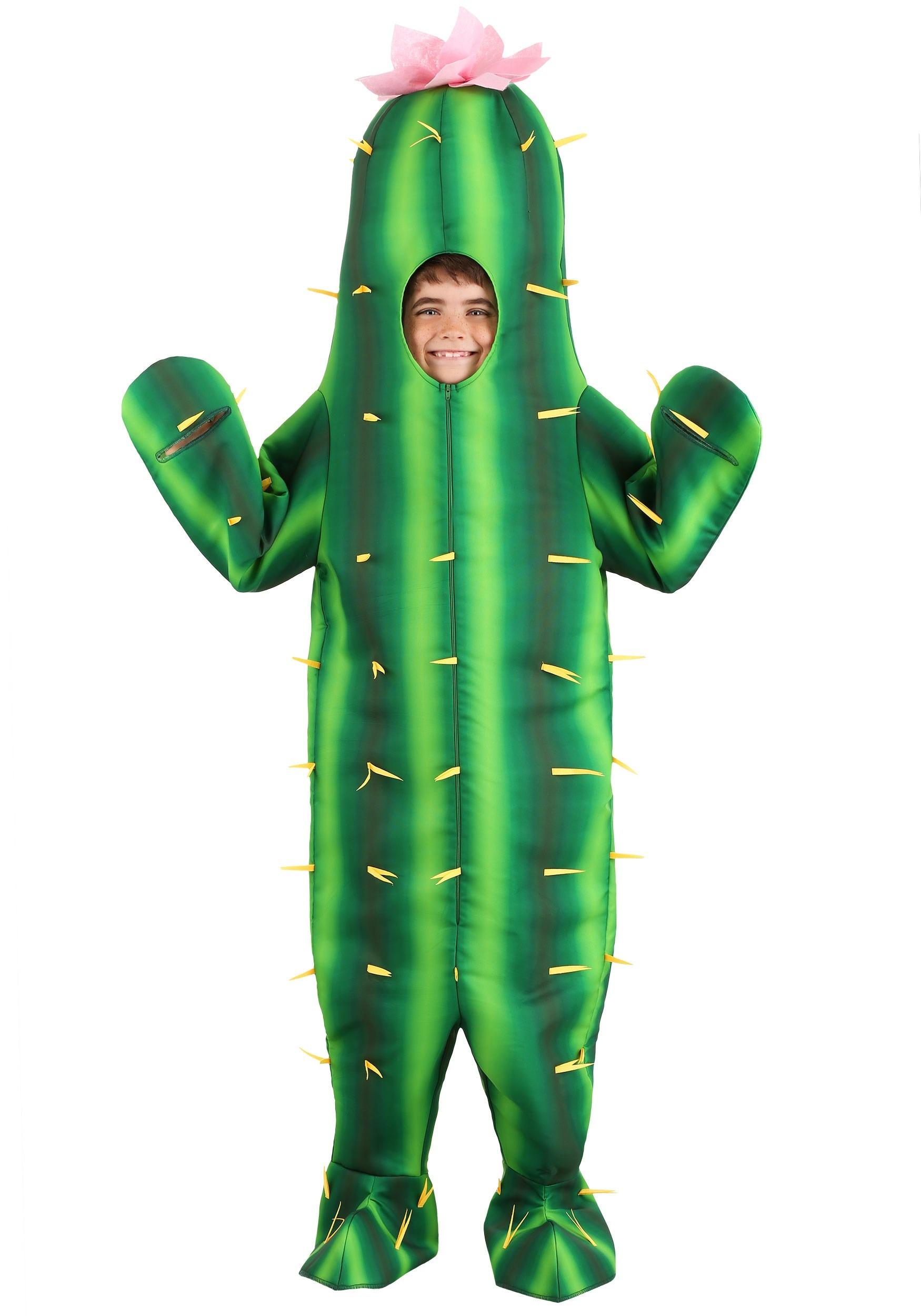 Cactus Kids Costume