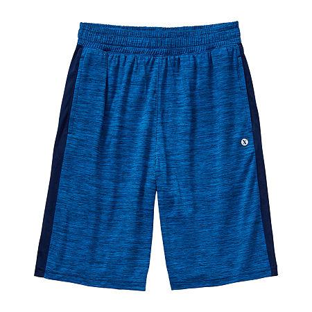 Xersion Little & Big Boys Basketball Short, Medium (10-12) , Blue