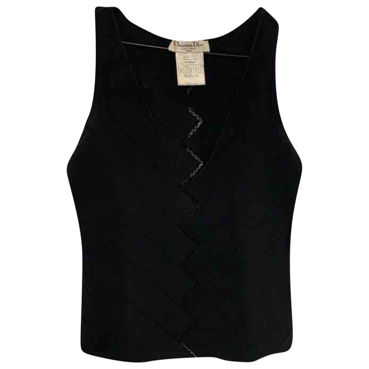 Dior \N Black  top for Women 36 FR