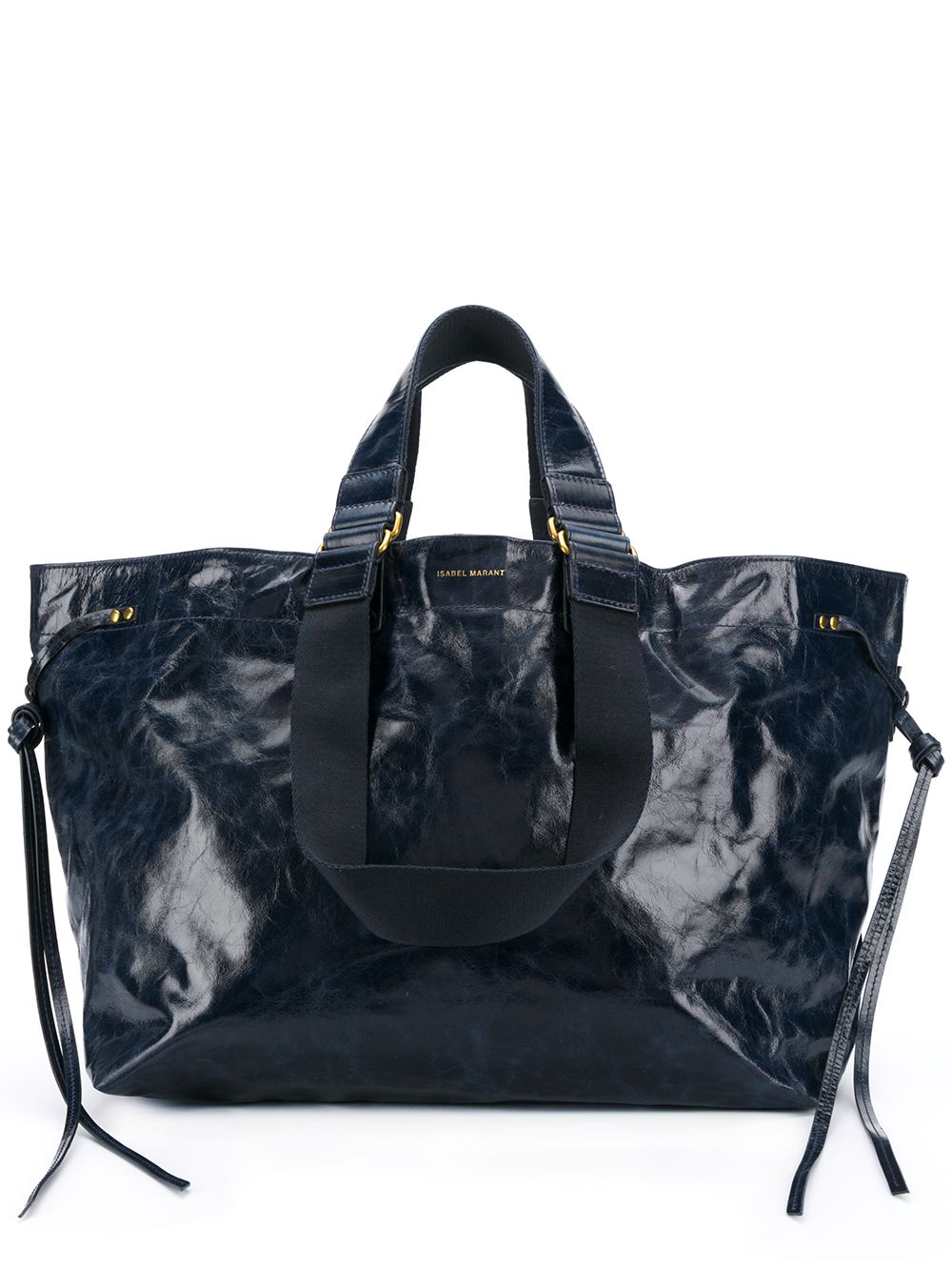Wardy Leather Shopper Bag