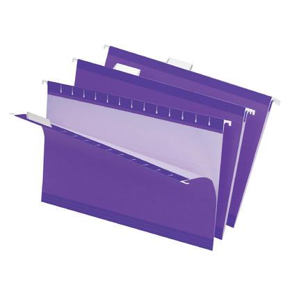 Pendaflex@ Reversaflex@ Premium Reinforced Hanging Folder, Legal Size, 25/Box - Violet 486803