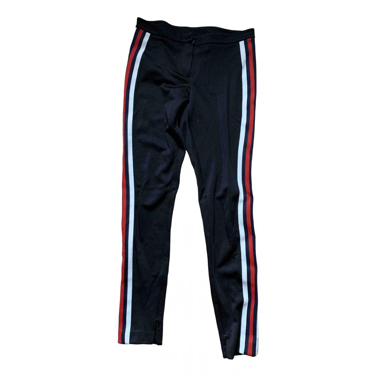 Gucci \N Black Trousers for Women XS International
