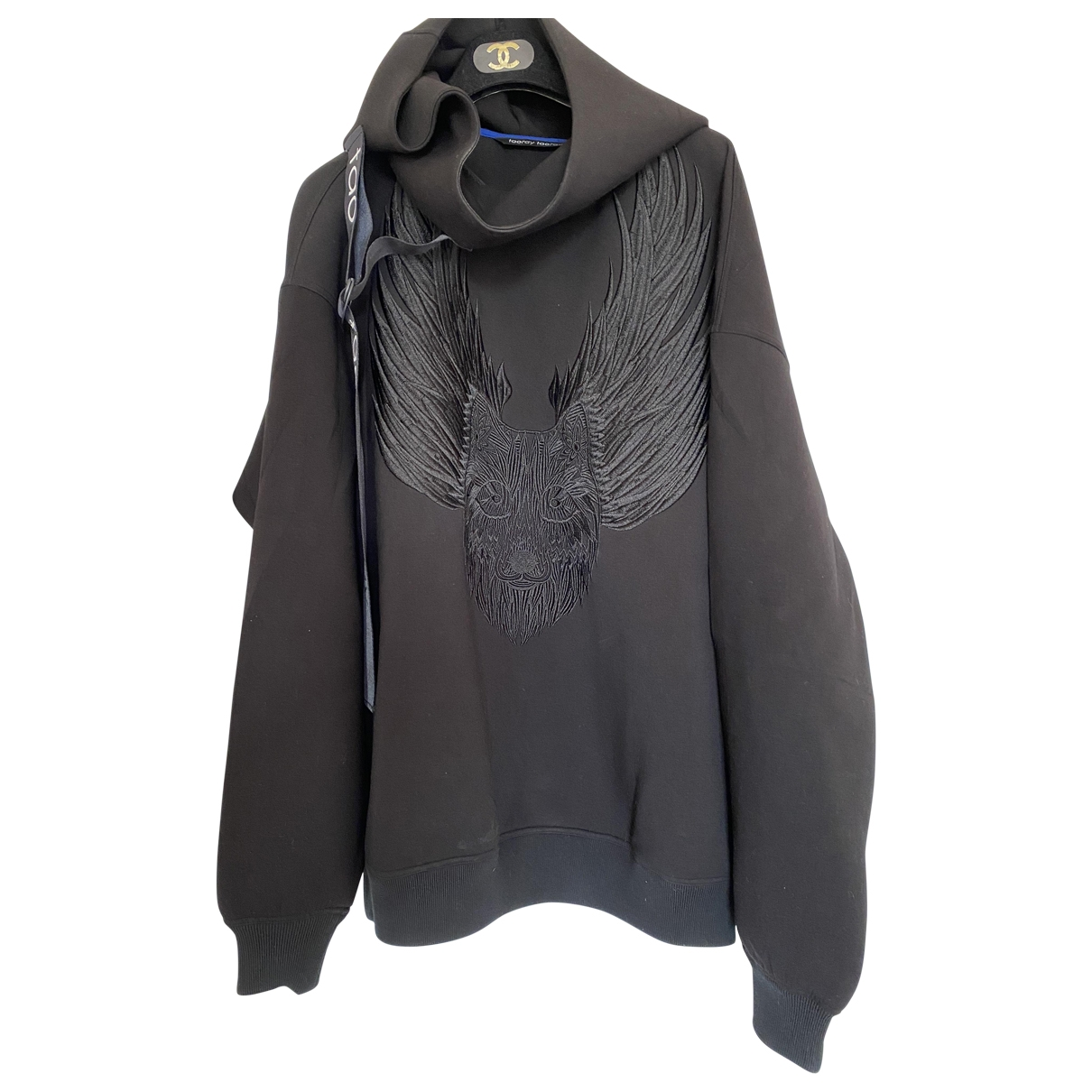 Non Signé / Unsigned \N Black Knitwear for Women M International
