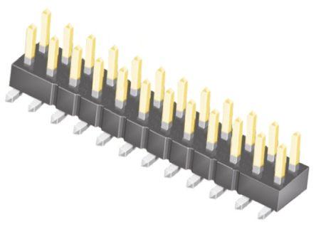 Samtec , TSM, 24 Way, 2 Row, Straight Pin Header