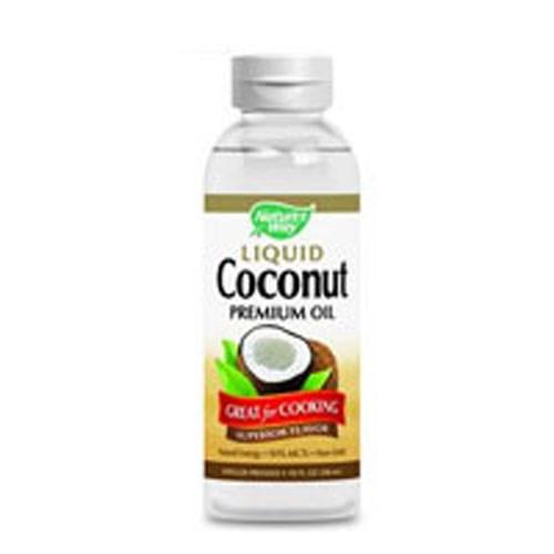 Liquid Coconut Premium Oil 20 Oz by Nature's Way