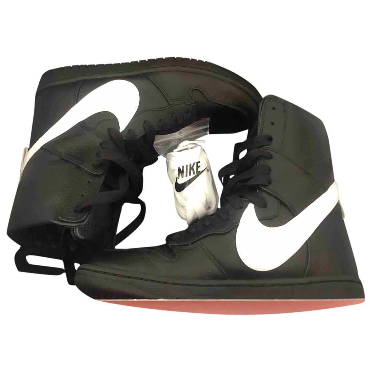 Nike By Riccardo Tisci \N Black Leather Trainers for Men 42 EU