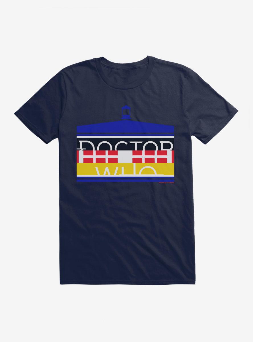 Doctor Who TARDIS Bold Script T-Shirt